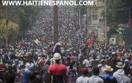 miles de manifestantes en Puerto Príncipe y las provincias exigen la salida de Jovenel Moïse