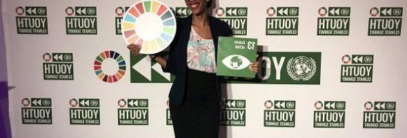 Vivianne Roc y Thamarlie Joachin las dos Jóvenes Voces de Haití en la Cumbre Climática de la ONU