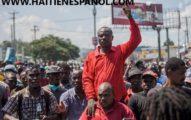 17 de octubre manifestantes divididos Jean Charles Moïse indexa a los estadounidenses dos muertos en Puerto Príncipe