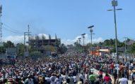 A Pedido de un Grupo de Artistas Miles de Personas Marcharon Contra el Poder en Puerto Príncipe