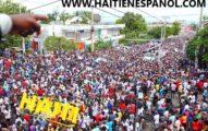 Artistas protestantes y cristianos protestan contra Jovenel Moisés por miles