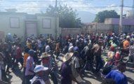 Fracaso de la receta y escenas de saqueo en la manifestación de la oposición plural este domingo