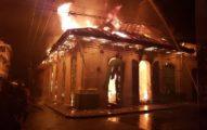 Incendio el domingo por la noche en locales que albergan BED y ONI North
