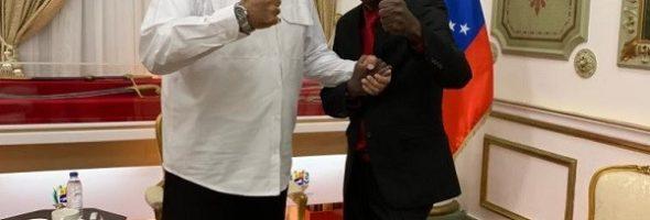 Jean-Charles Moïse se Encuentra con Nicolás Maduro y se Disculpa Por el Voto de Haití Contra Venezuela en la OEA