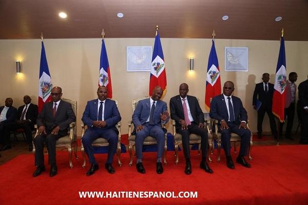 El Primer Ministro Joseph Jouthe y su Gobierno Invirtieron en sus Funciones